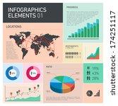 vector flat design infographics ...