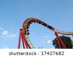 roller coaster in prater ... | Shutterstock . vector #17427682