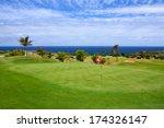 Green Grass Area In Golf Resor...