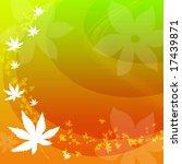 autumn background | Shutterstock . vector #17439871