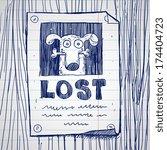 Missing Dog Poster  Doodle  ...