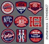 t shirt design | Shutterstock .eps vector #174408827