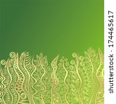grass meadow pattern nature... | Shutterstock .eps vector #174465617