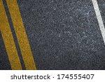 Road Asphalt Texture With...