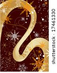 christmas abstraction. vector... | Shutterstock .eps vector #17461330
