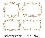 set of frame doodle | Shutterstock . vector #174622673