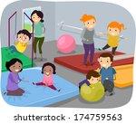 illustration of kids enjoying a ... | Shutterstock .eps vector #174759563