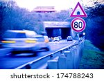 cars on the road with tunnel | Shutterstock . vector #174788243