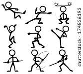 Stick Figure Kung Fu