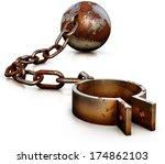 freedom concept | Shutterstock . vector #174862103