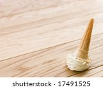 Ice Cream Cone Dropped On The...