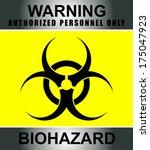 warning  biohazard   Shutterstock .eps vector #175047923