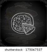 cute hand drawn vector...   Shutterstock .eps vector #175067537