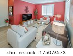 interior design of a luxury... | Shutterstock . vector #175076573