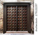Reinforced Wooden Zanzibar Door