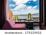interior of rest corner in... | Shutterstock . vector #175125923