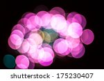big circle bokeh | Shutterstock . vector #175230407