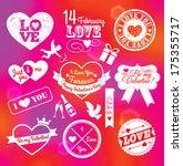 medal valentine day | Shutterstock .eps vector #175355717