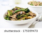Stir Fry Vegetables With Chicken