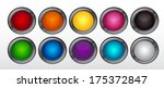 colorful cartoon buttons