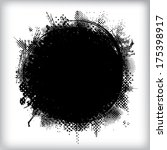 grunge background  | Shutterstock .eps vector #175398917