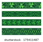 abstract,art,background,border,celt,celtic,clover,color,culture,day,decoration,design,detail,drawing,editable