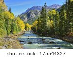 River And Colourful Mountains...