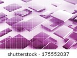 medical background with dna... | Shutterstock . vector #175552037