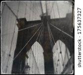 brooklyn bridge   Shutterstock . vector #175637327
