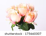 bouquet of beautiful roses on... | Shutterstock . vector #175660307