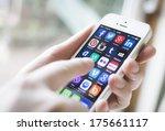 hilversum  netherlands  ... | Shutterstock . vector #175661117
