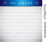 arrows and lines  hand drawn