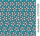 seamless pattern can be used...   Shutterstock . vector #175757333