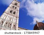 bell tower and dome of the...