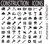 construction icons | Shutterstock .eps vector #175876637