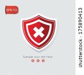 security symbol vector | Shutterstock .eps vector #175890413