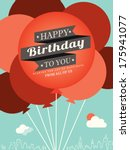 Happy Birthday Card Design...