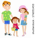 family | Shutterstock .eps vector #176051453