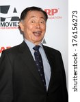 """Small photo of LOS ANGELES - FEB 10: George Takei at the AARP """"Movies for Grownups"""" Awards at Beverly Wilshire Hotel on February 10, 2014 in Los Angeles, CA"""