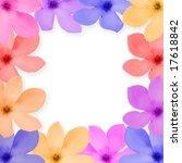closeup frame of a beautiful... | Shutterstock . vector #17618842
