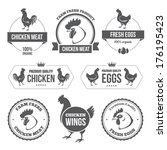 badge,bird,black,chicken,design,dinner,eggs,farm,food,fresh,healthy,hen,label,market,meat