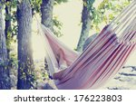 Person Relaxing In A Hammock I...
