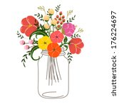 Roses In Jars