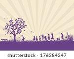 animals,april,background,basket,bunny,celebrate,celebration,childhood,children,color,cute,day,decoration,easter,egg