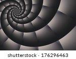 swirled checkered background
