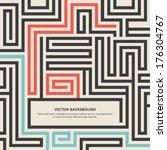 abstract vector background... | Shutterstock .eps vector #176304767