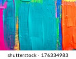 Abstract Art Background. Hand...