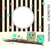 illustration of template... | Shutterstock .eps vector #176390753