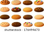 vector illustration of various... | Shutterstock .eps vector #176494673