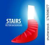 Red Spiral Round Stairway...